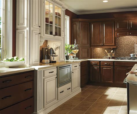 dark maple kitchen cabinets dark maple kitchen cabinets with ivory accents homecrest