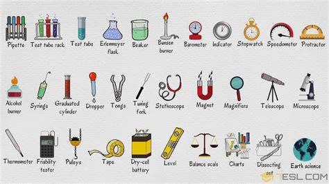 fb gags  laboratory equipment names list