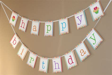 free birthday banner templates 7 best images of birthday banner printable template