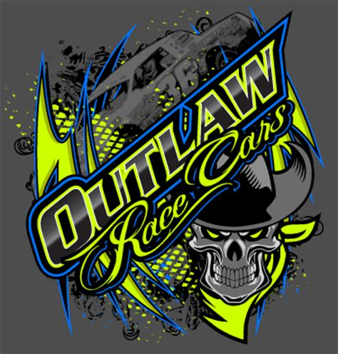 Outlaw Race Cars T Shirt By Bruceb7 On Deviantart Racing T Shirt Templates