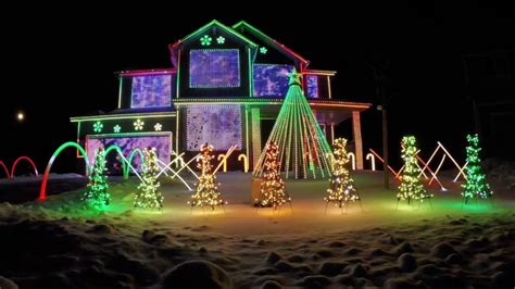 light show ideas gemmy industries light show treessinging