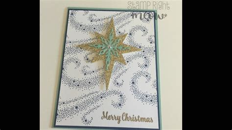 stin up star of light card star of light christmas card with stin up youtube