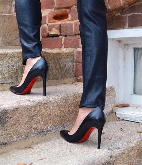 Heels Black Classico stilettos cut paste de moda