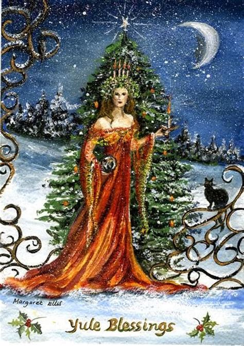 image of winters blessing christmas tree miss yule wassail