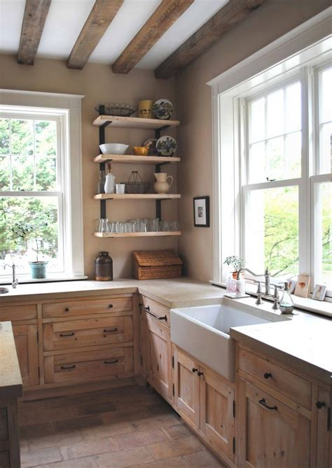 Country Kitchen Sink Ideas | natural modern interiors country style home kitchen
