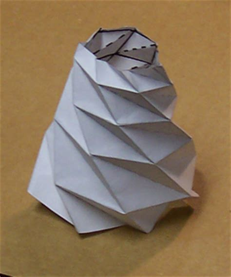 How To Make An Origami Cone - ams math in the media
