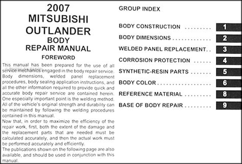 book repair manual 2010 mitsubishi outlander user handbook mitsubishi outlander schematic subaru impreza schematic 138dhw co