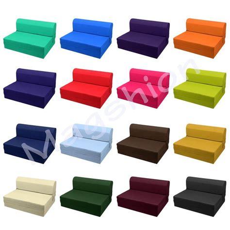 Sleeper Chair Folding Foam Bed Mattress Floor Ottoman Seat
