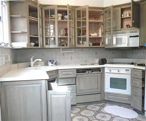 grey distressed kitchen cabinets painted distressed kitchen cabinets interior design