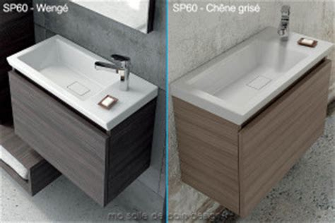 Formidable Lavabo A Poser Salle De Bain #8: Meuble-vasque-suspendu-ceramique-60-cm-sp60.jpg
