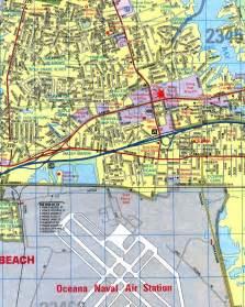 Map Of Virginia Beach Va by Virginia Beach Virginia City Map Virginia Beach Virginia