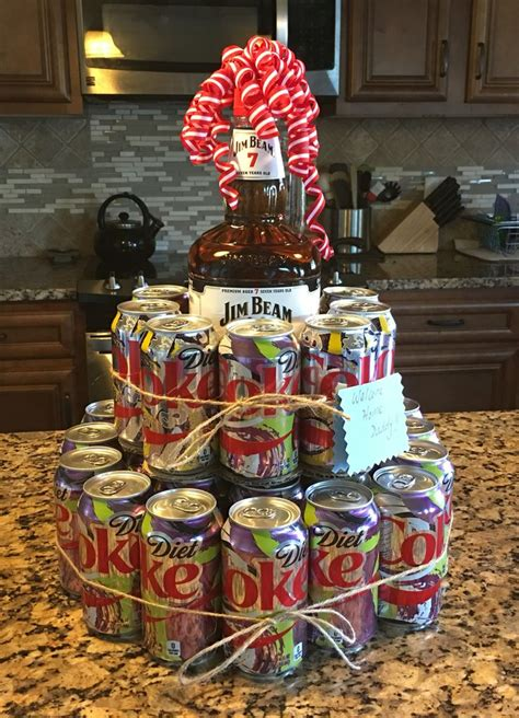 liquor gift for office jim beam cake i made for a welcome home gift liquor cake crafts jim beam cake