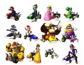 mario kart ds characters all the characters in mario