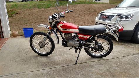 Suzuki Ts 125 suzuki ts 125 motorcycles for sale