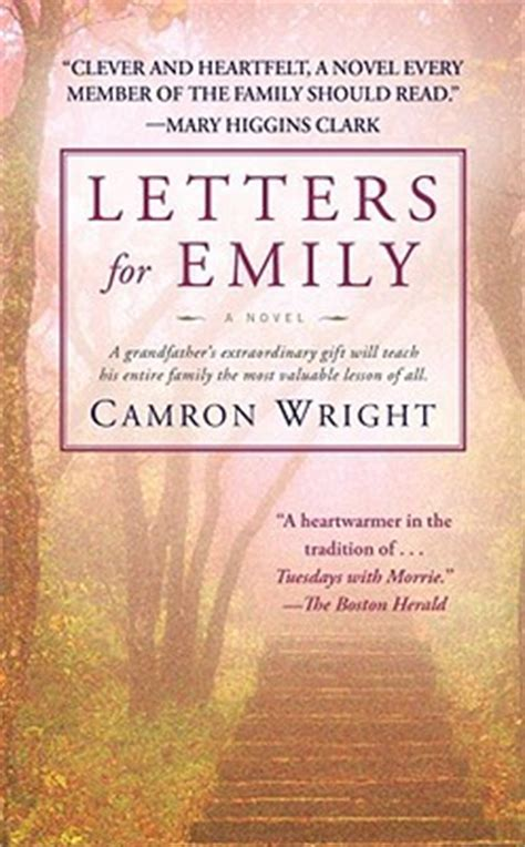 letters for emily letters for emily by camron wright reviews discussion