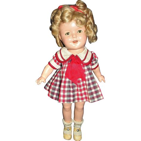 composition ideal doll ideal shirley temple composition doll with 2 original