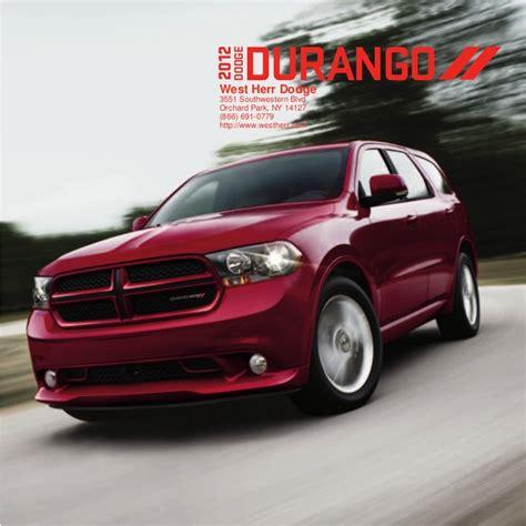 Jeep Dealers Wny 2012 Dodge Durango For Sale Ny Dodge Dealer Near Buffalo