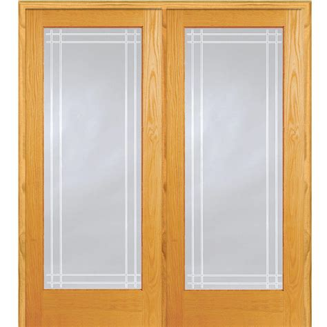 mmi door 62 in x 81 75 in classic clear perimeter v