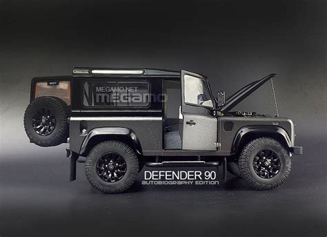 land rover defender matte 1 18 kyosho land rover defender 90 d90 autobiography