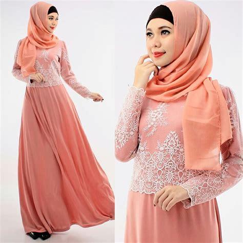 Baju Muslim Jersey Kombinasi Brokat gamis jersey kombinasi brokat savira gamis jersey
