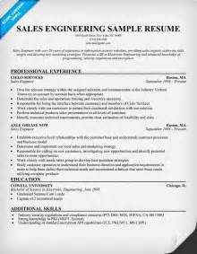 Resume Sles For Engineers by Sle Resume Engineering Sle Resume