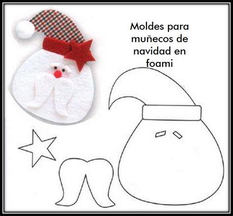 muecos de navidad en foami moldes para hacer mu 241 ecos de navidad en foami muy f 225 cil