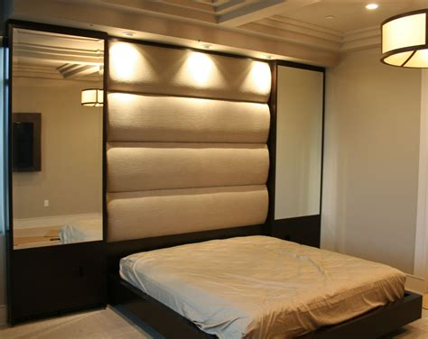 bedroom headboard wall panels built as components and installed onsite this bed