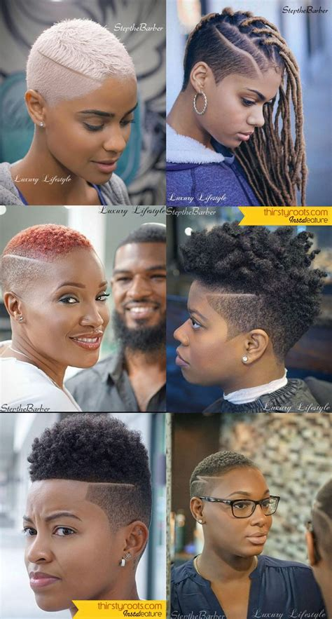 steps to tapering natural hair 6 fade haircuts for women by step the barber short fade