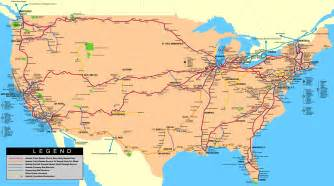 amtrak map eastern us rick s travelin partners us canadian rail travel