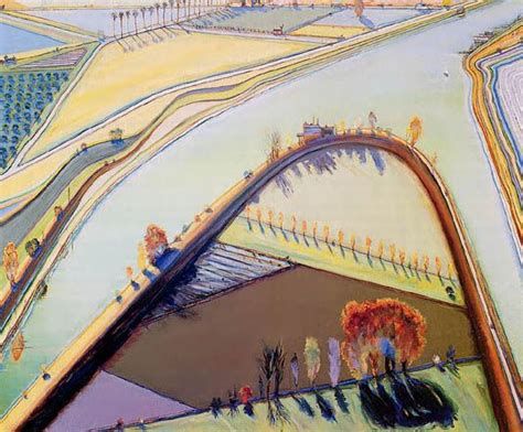 wayne thiebaud landscapes pinterest wayne thiebaud