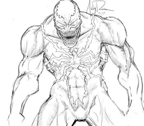 Venom By Archonyto On Deviantart Coloring Pages Venom