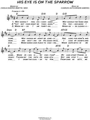 printable lyrics to his eye is on the sparrow printable lyrics to his eye is on the sparrow charles
