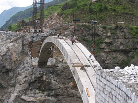 Temporary Deck by Dewey S China Trip Photos Yunnan Tiger Leap Gorge Bridge