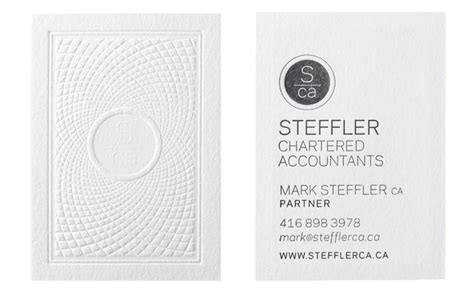 chartered accountant visiting card templates steffler chartered accountants business cards design