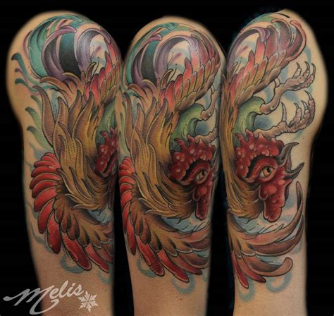 rooster tattoo designs 45 cool rooster tattoos