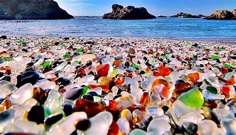 glass beach russia the broken glass beach of russia wonders of mother nature