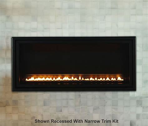 Vent Free Linear Fireplace by Boulevard Sl Vent Free Linear Fireplace S Gas