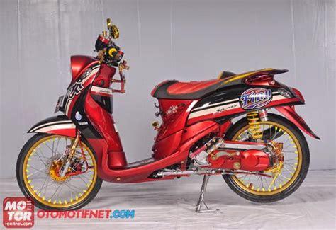 Modif Mio Fino Sporty by Modifikasi Yamaha Mio Fino Sporty Modifikasi Motor
