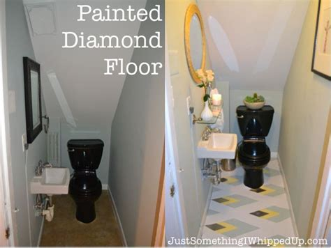 bathroom linoleum ideas hometalk painted linoleum bathroom floor