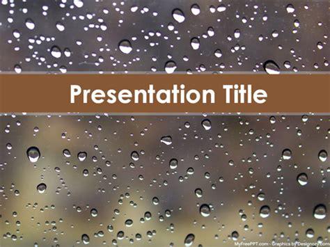 rain powerpoint themes powerpoint templates free rain gallery powerpoint