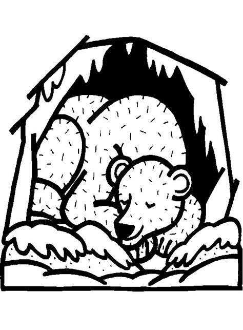 hibernation coloring pages preschool 17 best images about pre school hibernation on pinterest