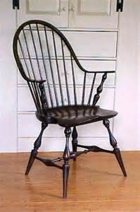 Windsor chair thought by many to be the first authentic american chair