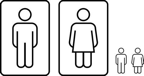 bagno donne immagine vettoriale gratis bagno persone uomini donne