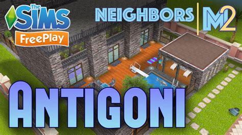 design clothes neighbor sims freeplay sims freeplay antigoni s house neighbor s original