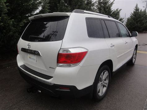 2012 Toyota Highlander Limited For Sale Used 2012 Toyota Highlander Limited For Sell Cars For