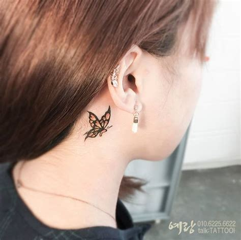 southpaw tattoo behind ear behind ear tattoos tattoo collections
