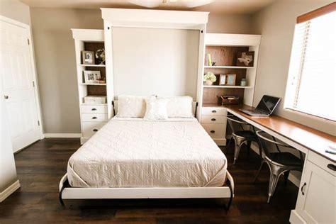 Small Farmhouse Plans by 12 Diy Murphy Bed Projects For Every Budget