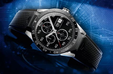 TAG Heuer, Google, and Intel Launch ?Connected,? the First Swiss Luxury Smartwatch