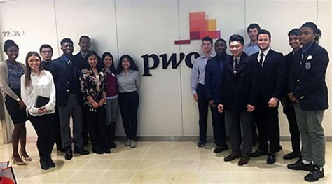Pwc Intern International Students Mba by Futures And Options Enewsletter Connecting Youth