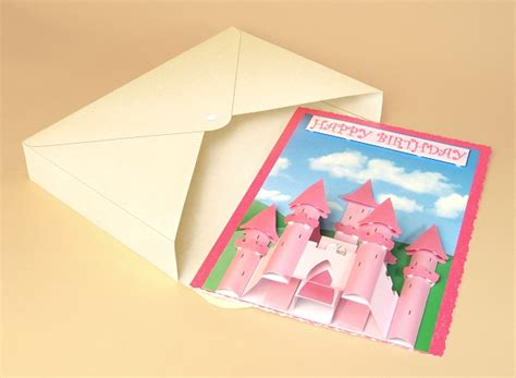 3d Card Craft Templates by A4 Card Templates For 3d Princess Castle